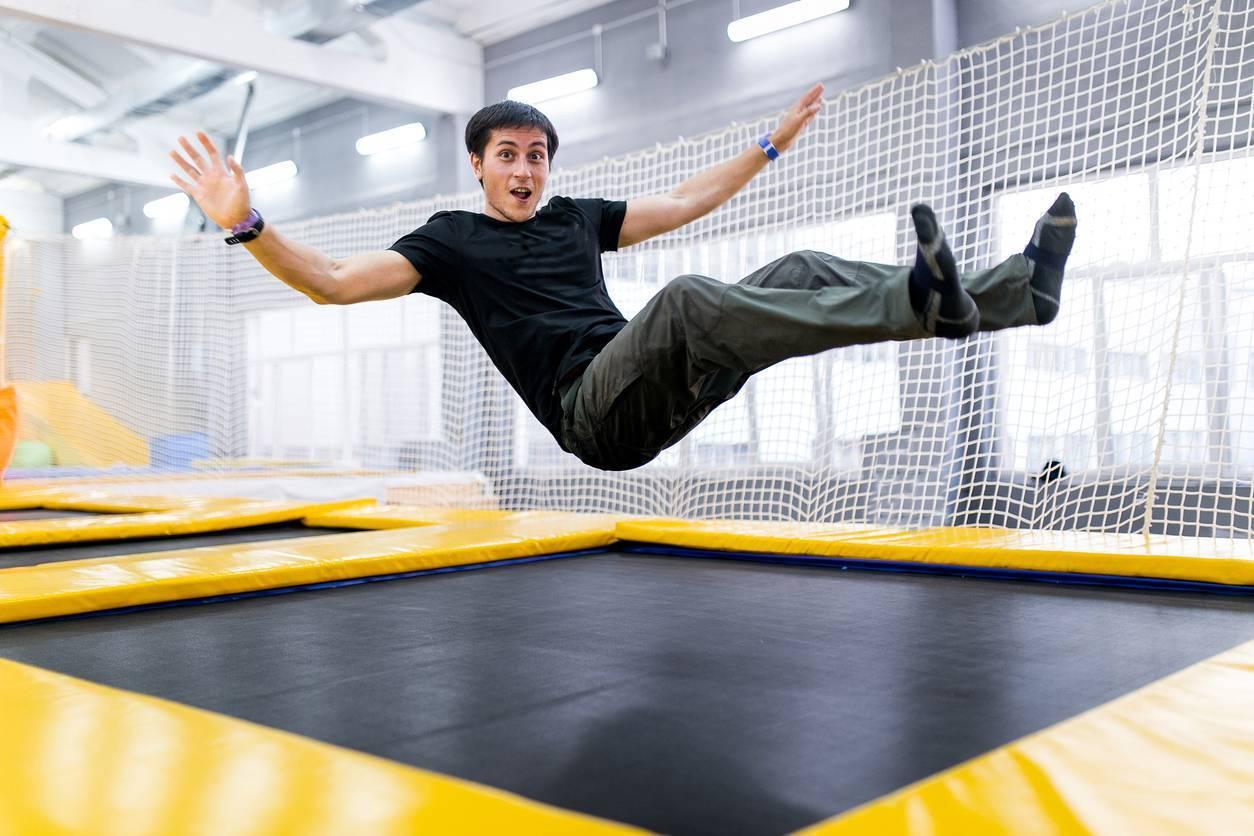 organisation compétition de trampoline