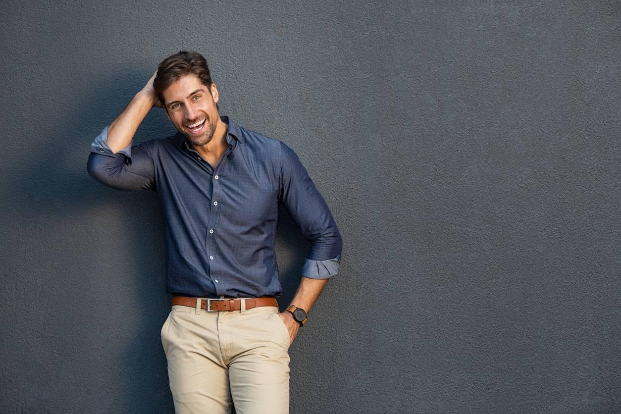 vêtements à la mode pour hommes