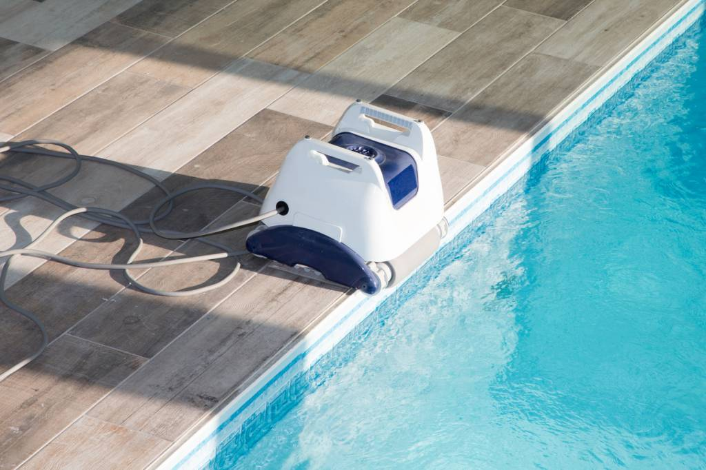 robot de piscine filtrant