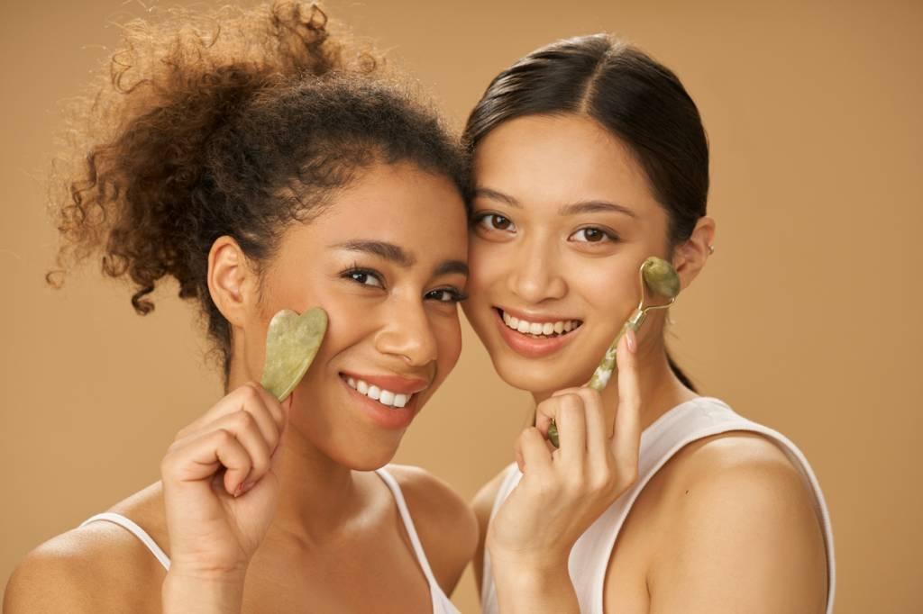massage visage Gua sha