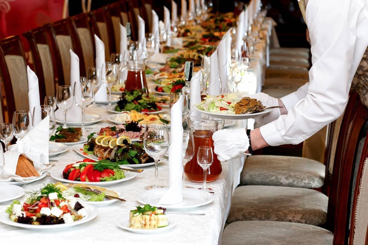 Service à la table